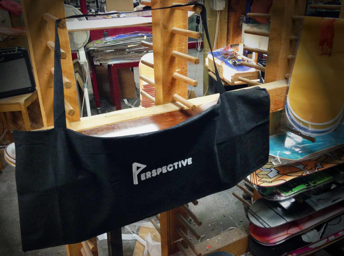 Skate bags: New construction!